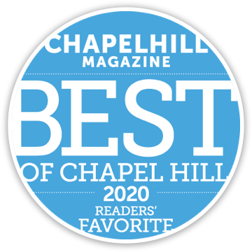 Chapel Hill Magazine, Best of Chapel Hill 2020, Readers' Favorite